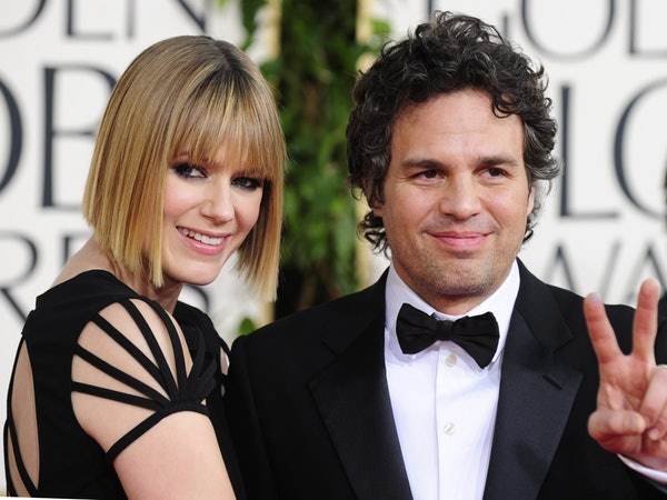 who is mark ruffalo 39 s wife sunrise coigney is a french. Black Bedroom Furniture Sets. Home Design Ideas
