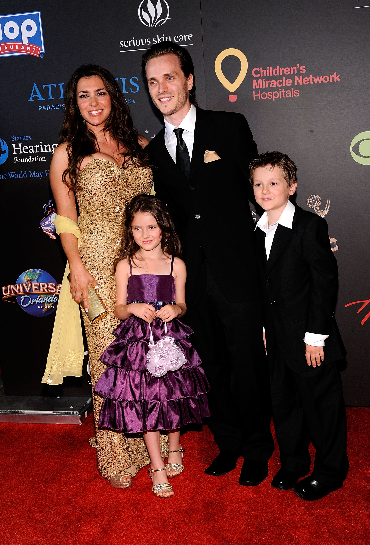 Jackson and his wife s three  Jonathan Jackson And Wife