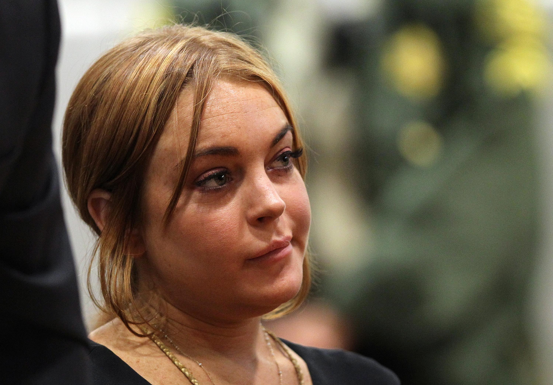 Aaron Voros Lindsay Lohan