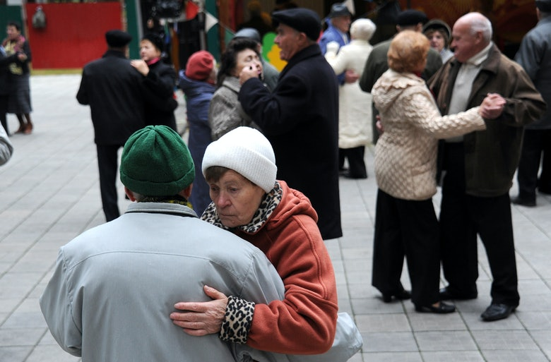 Speed dating for senior citizens