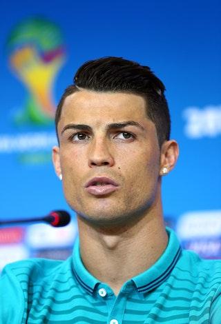 Cristiano Ronaldos Eyebrows And Cara Delevingnes