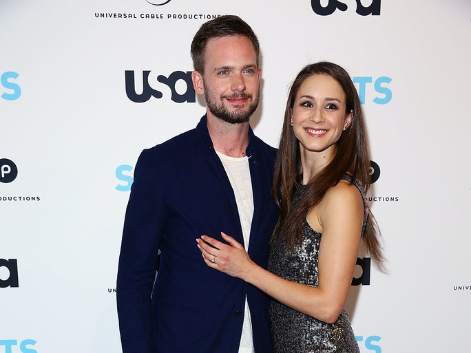 When Is Troian Bellisario Getting Married She Amp Fiance Patrick J Adams Are Pretty Busy