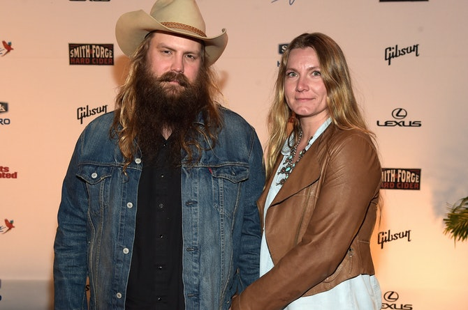 Who is chris stapleton 39 s wife morgane stapleton is a for How many kids does chris stapleton have