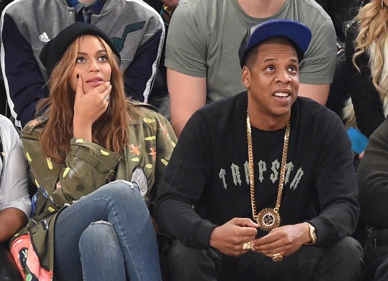 Beyonce Wears Distressed H&m