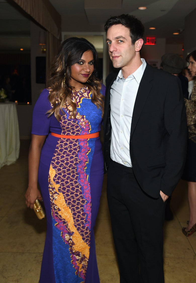 b j novak and mindy kaling dating Mindy kaling and bj novak's relationship is more than your typical friendship, but one that they insist is purely platonic.