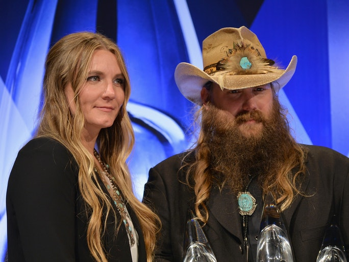 who is chris stapleton 39 s wife morgane stapleton is a