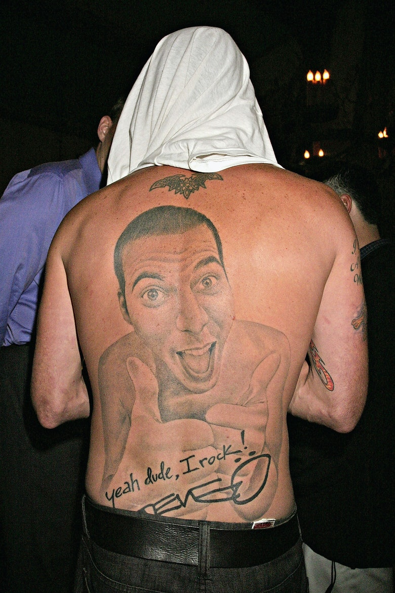 Bustle for Steve o tattoo removal
