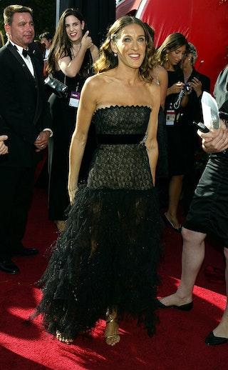 Black Flowy Dress