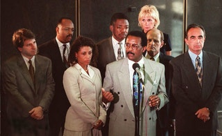 oj simpson an unfair verdict Does the black community still overwhelmingly believe oj simpson is not a  he got unfair treatment  overwhelming celebration of oj simpson's innocent verdict,.
