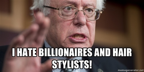 bernie sanders haircut. his supporters. while hilary clinton has been reluctant to offer full transparency about her emails, she freely admitted that dyes hair \u201c\u0027 bernie sanders haircut