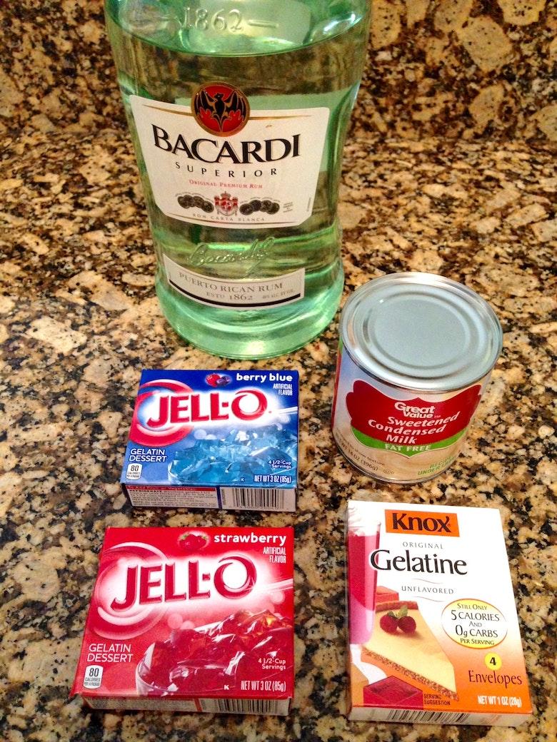 Blue Jello Flavors And Berry-flavored Jello