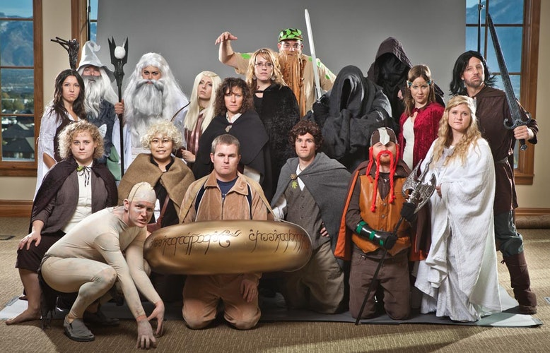 130 group halloween costume ideas brit co lotr diy ers and cosplayers alike will have a blast dressing up as the hobbits wizards and elves from this epic tale although the best costume award solutioingenieria Image collections