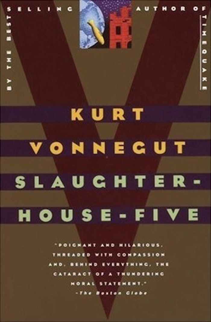 kurt vonneguts life experiences through his science fiction novel slaughterhouse five Vonnegut transmits his anti-war feelings to the readers through the novel's main science fiction novel and what kurt vonnegut's slaughterhouse-five as an.