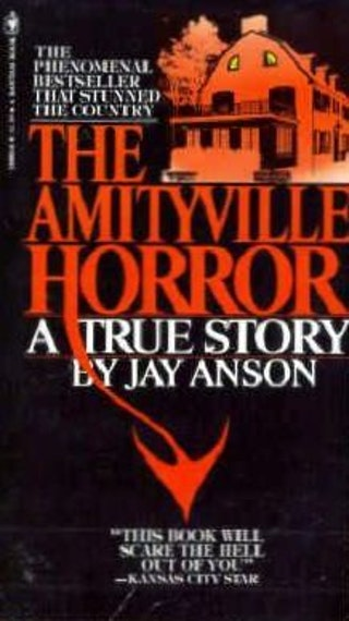 a report on the amityville horror a novel by jay anson The amityville horror - a true story is a book by jay anson, and published in   protective and often decorative wrapper, usually made of paper which wraps aro.