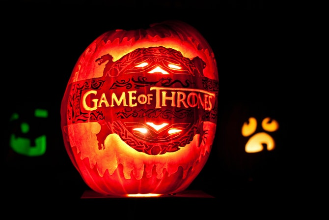 Awesome literary pumpkin carving and decorating ideas