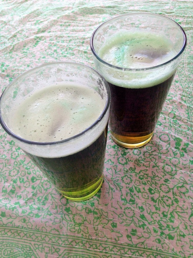 how to make green beer for st patrick& 39