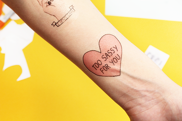 how to make draw on tattoos last longer