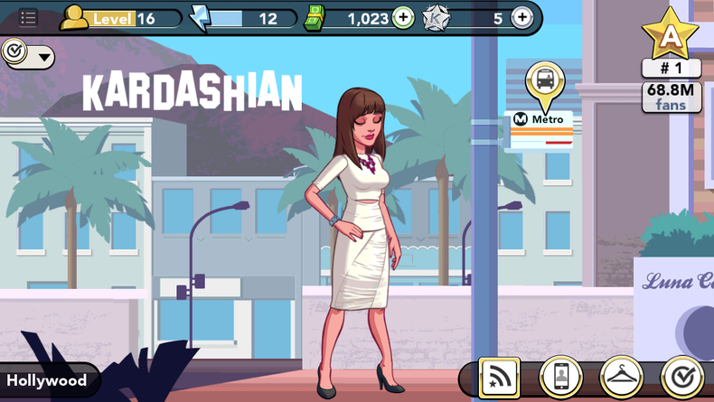 Where is miramount pictures in kim k butik work