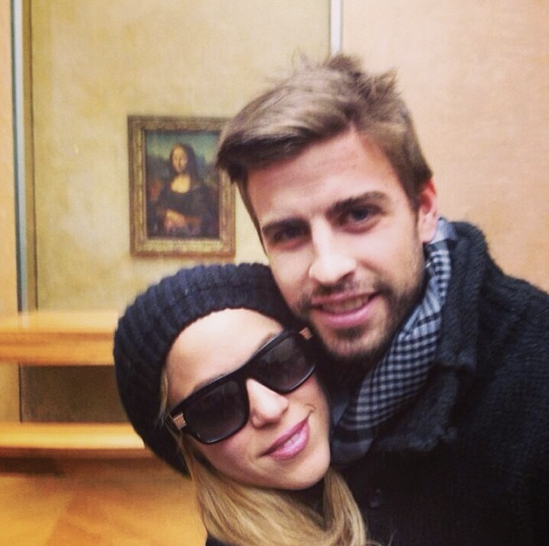 Shakira & Gerard Pique | Celebrity Couples, Shakira and Pique