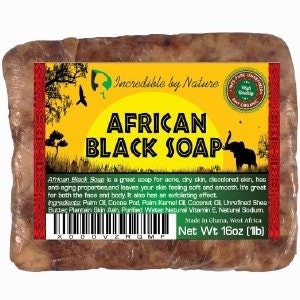 Incredible By Nature African Black Soap Reviews
