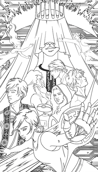 The Lunar Chronicles Coloring Book Is Coming Next Year