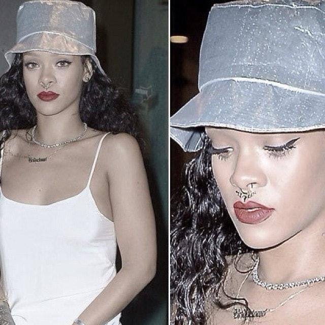 Rihanna Got A Fake Septum Piercing 5 Ways To Get The
