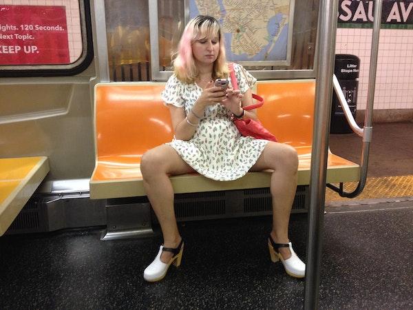 I Sat Like A Man On The Subway A