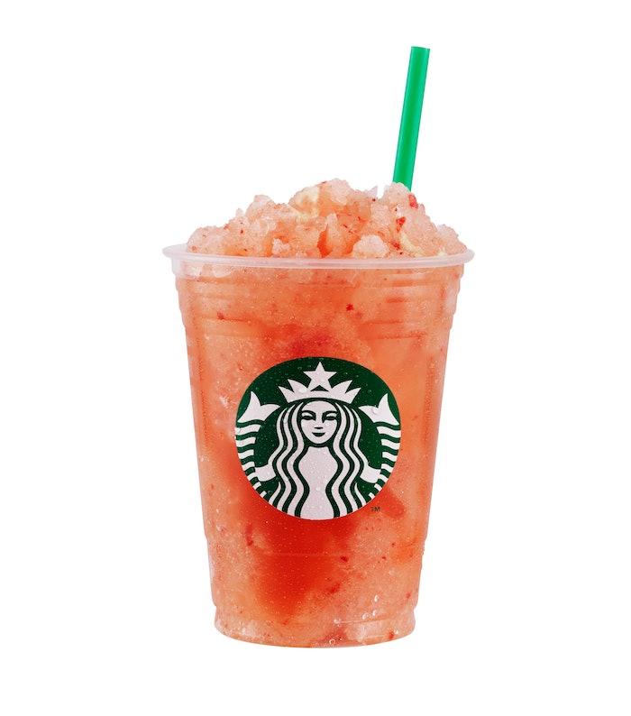 Starbucks StrawberryLemon Limeade Granita