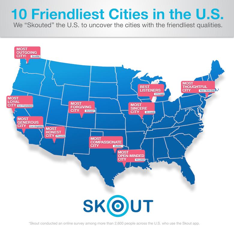 The 10 Friendliest Cities In The U.S. Should Definitely Be ...