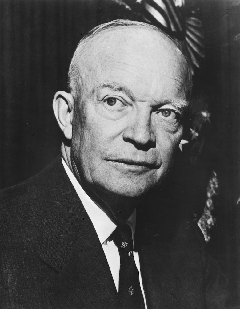 "the faith of americans in dwight eisenhower February 7 is a notable historical day for the acknowledgment of god in modern america: it is the day that a sermon was preached before president dwight d eisenhower, suggesting that the words ""under god"" be added to the pledge."
