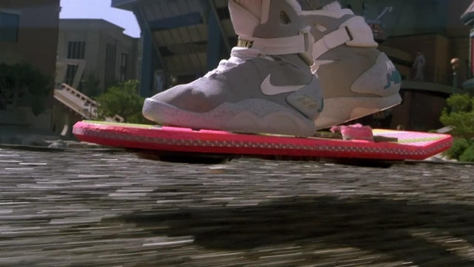 the hendo hoverboard s kickstarter page funds the floating