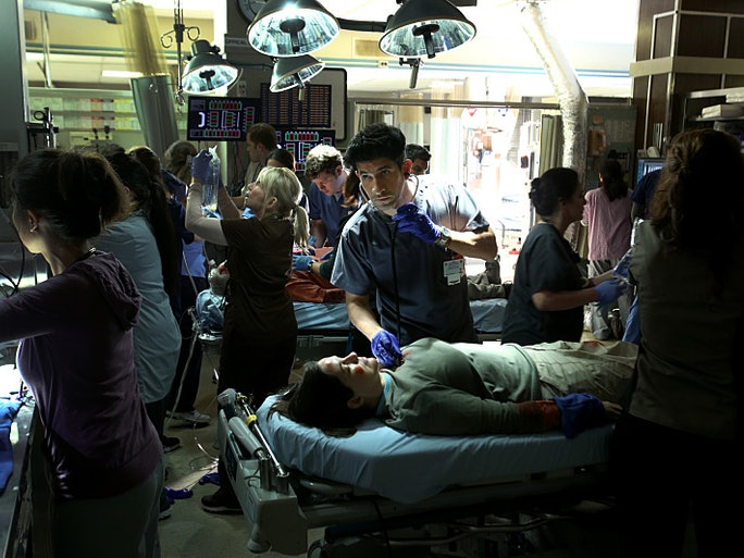 Angels Memorial Hospital On 'Code Black' & Grey Sloan ...