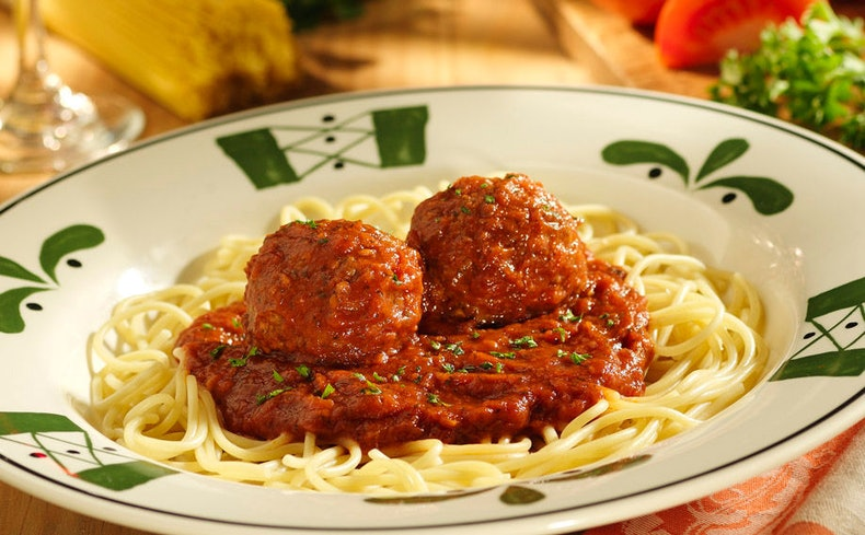 Bustle - Olive garden spaghetti and meatballs ...
