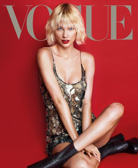 Taylor Swift Graces the Cover of British Vogue in Goth Makeup