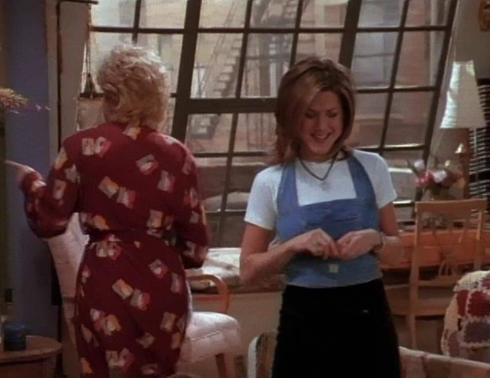 Rachel Green Outfits how Rachel got away with