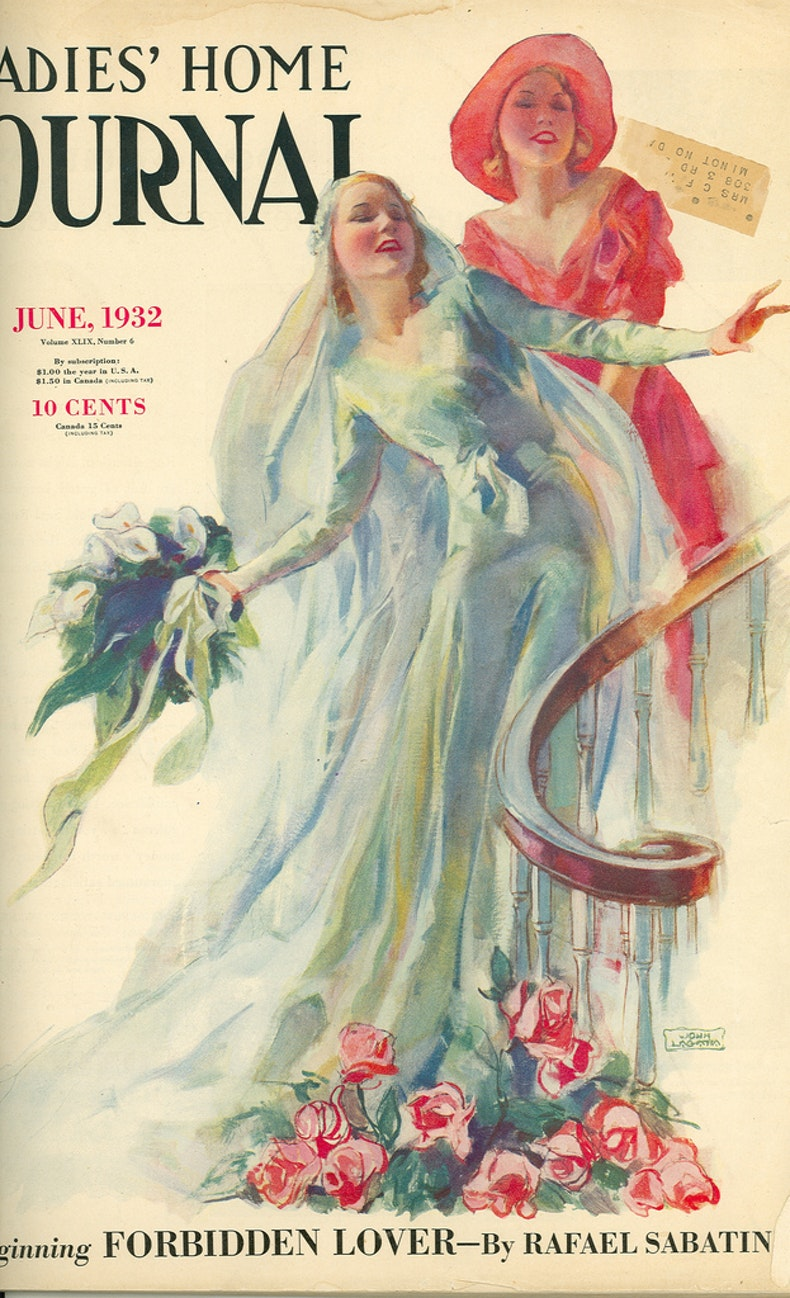 articles these vine bridal magazine covers prove they havent changed much last century