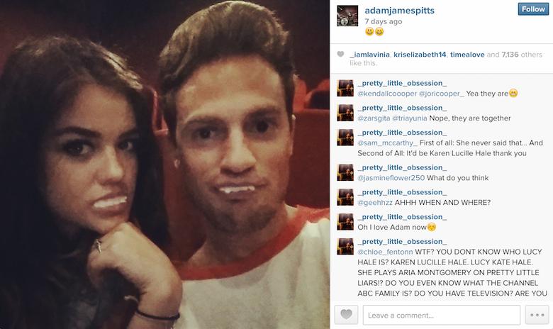 Adam james pitts dating