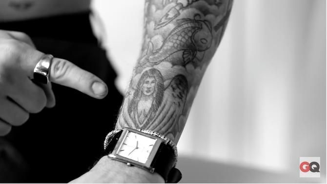 Justin bieber talks about his selena gomez tattoo it 39 s for Shading tattoo pain
