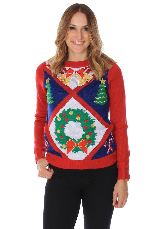 Yeti Christmas Sweater - Bronze Cardigan