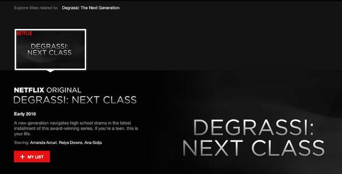 Degrassi Next Class Deal After Next Class Has
