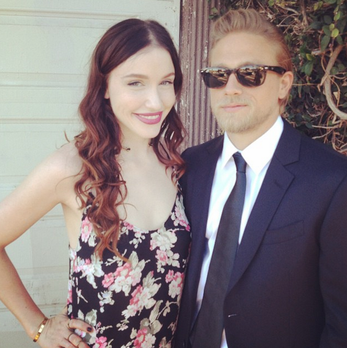 Katharine Towne And Charlie Hunnam Divorce Who is morgana mcnelis ...