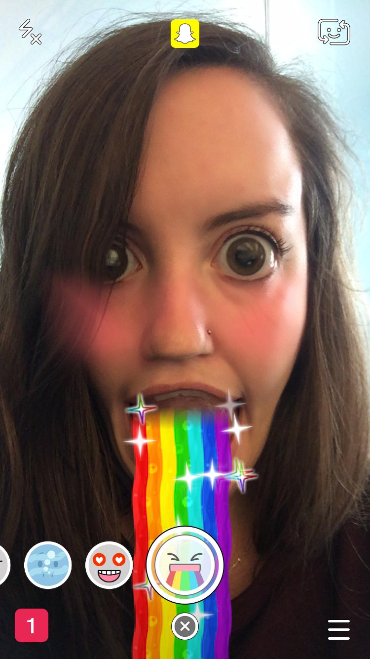 app som förvränger ansiktet