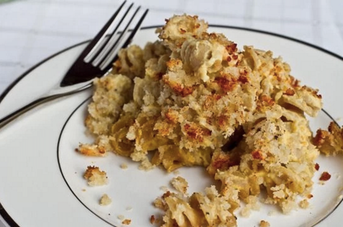 best ever baked macaroni and cheese tofuparty the best vegan baked mac ...
