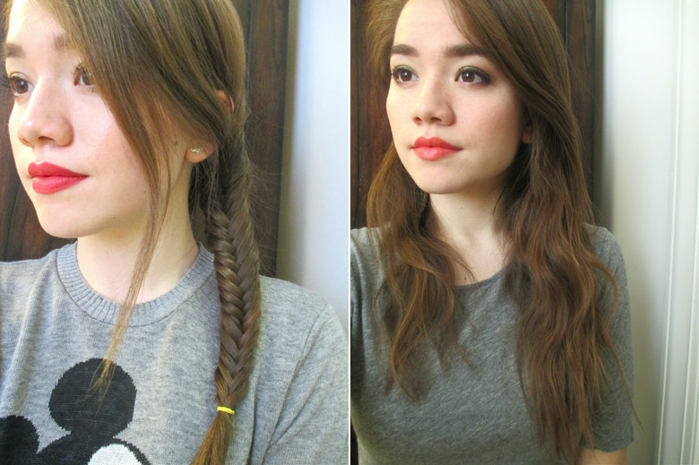 how to make your hair wavy overnight with braids
