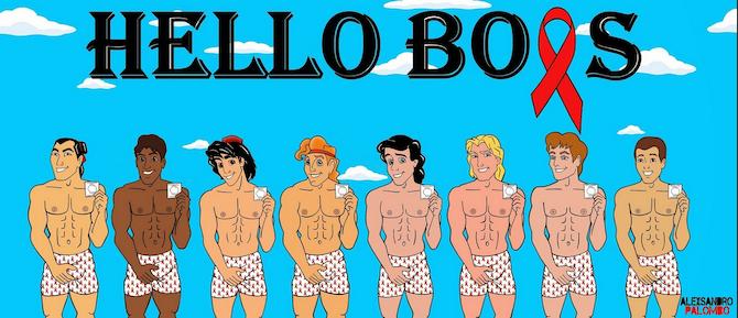 Alexsandro Palombos Hello Boys: Disney Princes Go Naked