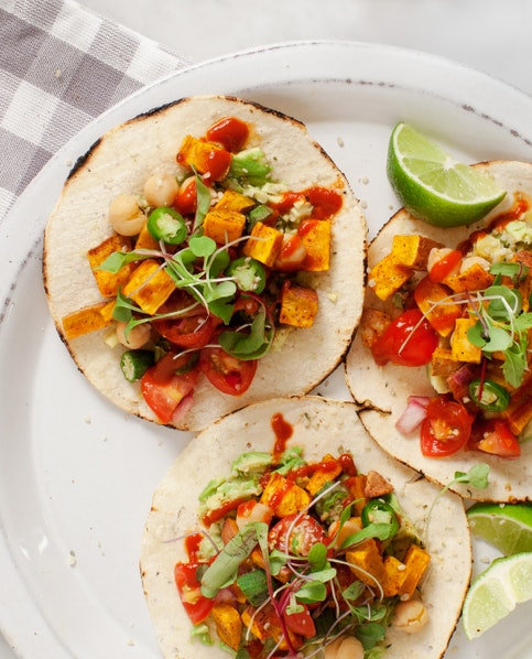 Spicy Sweet Potato Avocado Tostadas | 12 Untraditional Sweet Potato ...