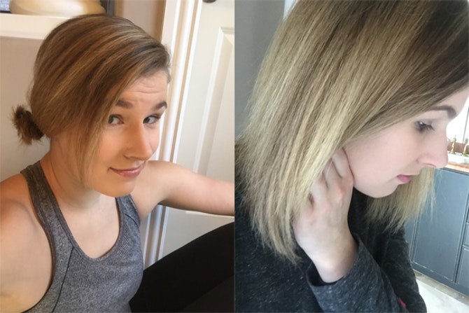how to get blonde highlights at home