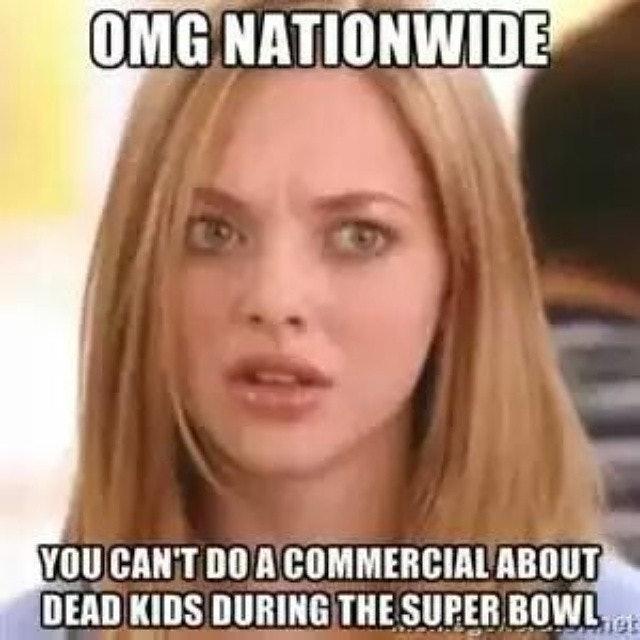 nationwides dead kid super bowl ad memes were inevitable