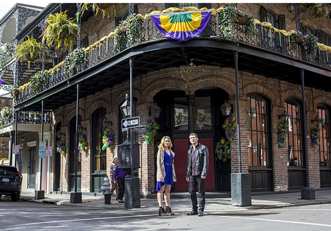 Originals Fans Tour Of New Orleans