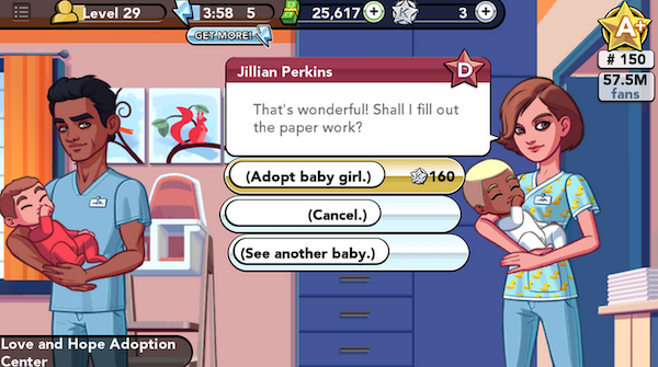 How to get a free baby in the kim kardashian iphone game yup totally